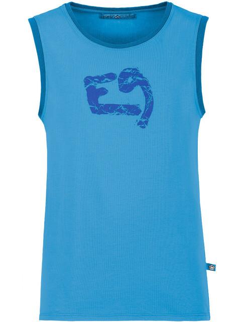 E9 Boom - Haut sans manches Homme - bleu